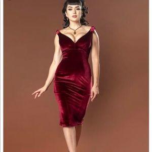 Laura Byrnes Pinup Girl Clothing Gilda Dress